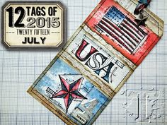 Live The Dream: 12 Tags of 2015 : July