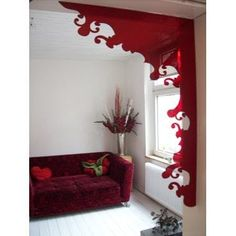 The ubiquitous wall decal gets 3-D. The Indoorframe is a stick-on, removable plexiglass embellishment for wide, boring doorways in need of drama. There's so much drama to be found in this product, in fact, that perhaps it's better suited for a theatrical set.