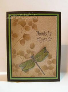 masculine thank you card by Laura Fulcher