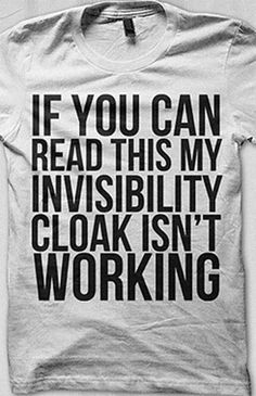 Man, I HATE it when this happens! ;) Btw, MUST purchase this shirt.