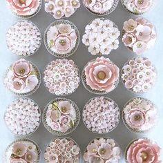 Mini Cakes, Cupcake Cakes, Cupcakes, Jewel Cake, Hard Part, Sugar Flowers, Edible Art, Cake Pops, Bakery