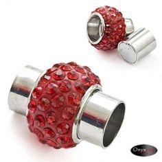 zapięcie magnetyczne z kryształkami