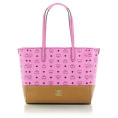 MCM – Shopper Project EW  Medium Pink/Cognac - MCM Shopper Project EW  Medium Pink/Cognac Handtaschen