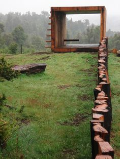 Pinohuacho observation deck / Rodrigo Sheward The Green Life <3