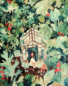 Sang Miao's illustration