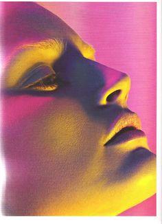 "thedoppelganger: "" Uh! Oh! Magazine: POP #13 Spring/Summer 2006 Photographers: Mert Alas & Marcus Piggott Models: Guinevere van Seenus, Jessica Stam """
