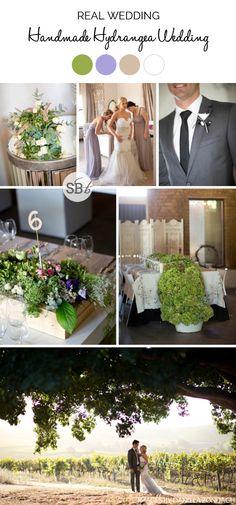 Handmade Hydrangea Wedding by Daniela Zondagh | SouthBound Bride | http://www.southboundbride.com/handmade-hydrangea-wedding-at-401-rozendal-by-daniela-zondagh-ronnilie-niel