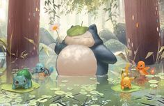 regram @janicesung My Neighbor Snorlax @ Toronto Fanexpo booth A269! (Limited quantity )#pokemon #art #illustration #drawing #cute #nature #totoro #snorlax #pikachu #squirtle #charmander #bulbasaur #fanexpo