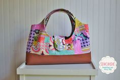 Craftsy Class Review and Giveaway: Quilt-As-You-Go Patchwork Bags — SewCanShe | Free Daily Sewing Tutorials