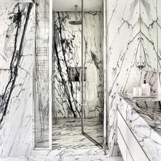 via heavywait - modern design architecture interior design home decor & Mold In Bathroom, Bathroom Spa, Bathroom Interior, Washroom, Marbel Bathroom, Bathroom Modern, New Bathroom Ideas, Bathroom Pictures, Bathroom Inspiration