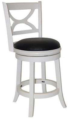 Boraam - Florence Counter Stool in White Distressed Finish
