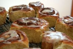 Certain brunch guests will be surprised to learn that cinnamon rolls can be made from scratch in a home kitchen. (\