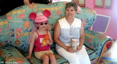 Celebrating Mother's Day at Walt Disney World  This picture was taken August 1, 2006 when Sophie took her Meemaw to Minnie's Country House!
