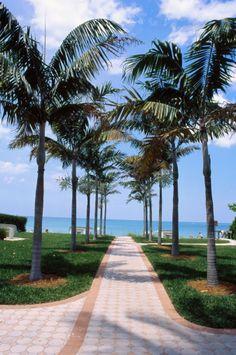 : Naples FL Beach entry