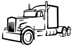 tri axle door logos are different sizes semi truck decals rh pinterest com semi truck logs semi truck logo design