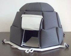 SHUT THE FRONT DOOR, its an insulated igloo to camp IN THE SNOW.