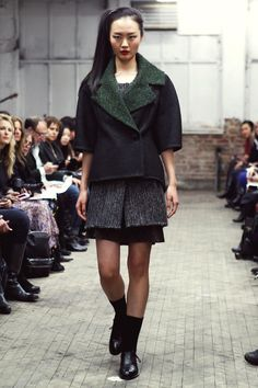 Yeohlee Fall 2013 RTW Collection - Fashion on TheCut