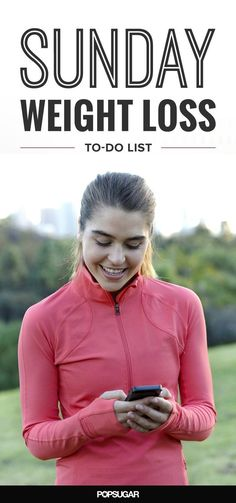 A little planning goes a long way, so here are some things you can do on Sunday to ensure you stay on a healthy path all week long. #weightlossrecipes