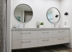 Double Sink Vanity, Vanity Design, Showcase Design, Vanities, Your Space, Mirror, Bathroom, Furniture, Home Decor