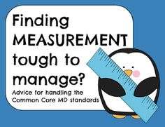 Finding Measurement Tough to Manage? Tons of great ideas for 2nd and 3rd grade!