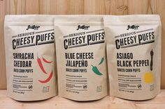 Last Minute Food Gifts That Your Dad Will Love #refinery29  http://www.refinery29.com/2016/06/112807/food-gifts-guide-fathers-day#slide-5  Serious Cheesy Puffs ($17 for three)Handcrafted with only natural ingredients, these cheesy puffs aren't joking around with their bold flavors. If your dad is into cheese and crunchy snacks, then he will definitely appreciate a pack of these tasty puffs. Be...