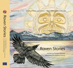 Raven and the Box of Daylight is an ancient creation story based on oral history that has been passed from generation to generation for thousands of years. Traditional stories document Native history, reflect Native world views, and are highly valued clan possessions that are integral to Native identity. Cd Labels, Black Hair Boy, Traditional Stories, Crows Ravens, Oral History, World View, Children's Literature, First Nations, Autumn