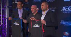 Cain Velasquez & Fabricio Werdum to Coach 'TUF: Latino America'; Will Fight at UFC 180   TalkingBrawlsMMA.com
