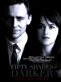Tom Hiddleston - another Jack Hyde contender perhaps? #FiftyShades