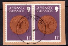 Stamps Guernsey 1979 Coins SG 188 Fine Mint Scott 183 Other Commonwealth Stamps here