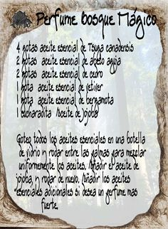 perfumes – Home Recipe Witch Symbols, Magick Book, Sabbats, Believe In Magic, Dark Fantasy Art, Book Of Shadows, Beauty Care, Aromatherapy, Spelling