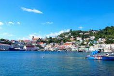 St George's Greanda - a wonderful cruise ship port and wonderful Caribbean city to visit.