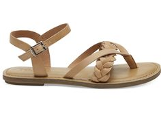 Buy one pair, Give one pair :-))   TOMS ; Honey Honey Leather Women's Lexie Sandals