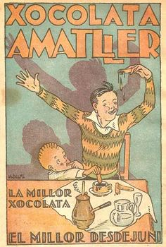 Xocolata Amatller. Anunci. Anys 30