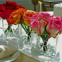 wedding ceremony  decorations - (PINK AND WHITE ROSES)
