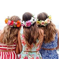 Flower Crown Hairstyle, Crown Hairstyles, Hot Tools, Wand Curls, Summer Collection, Her Hair, Flora, Muse, Simple