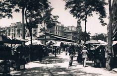 1916: Plaza del Mercado Fuente: Rafael Solaz- PLAZAS DE VALENCIA