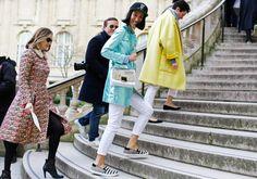 Photos: Street Style: Paris Fashion Week Fall 2014, Part Two – Vogue