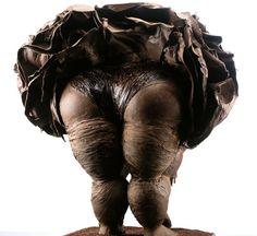 Opéra sculpture de Patrick Roger, une sculpture en chocolat.