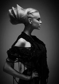 Hair by Philip Barwick, Muse Hairdressing, Surry Hills NSW – Nominated for Australian Hairdresser of the Year