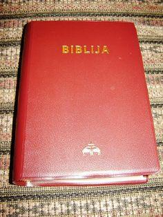 Lithuanian Bible / Canonical Edition Burgundy / Biblija, arba Sventasis Rastas Penktas pataisytas ekumeninis leidimas / Senasis Testamentas / Naujasis Testamentas