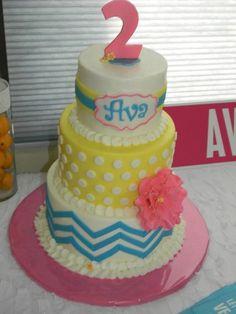 Ava's 2nd Birthday Cake