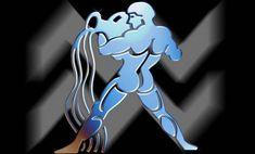 Zodiac Signs Horoscope - Aquarius - Iron on Heat Transfer for White Material Aquarius Tattoo, Astrology Aquarius, Zodiac Signs Aquarius, Age Of Aquarius, Zodiac Star Signs, Zodiac Art, Pisces, Libra Aquarius, Aquarius Woman