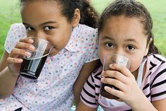 What kids drink is as important as how much they drink, especially since there are so many choices for kids today that look deceptively healthy but are not.
