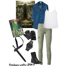 """Watched Maze Runner Friday! AMAZING!!!!"" by fandoms-unite-3947 on Polyvore"