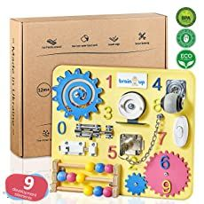 Amazon.com Shopping Cart Busy Boards For Toddlers, Board For Kids, Infant Activities, Activities For Kids, Sensory Activities, Sensory Rooms, Baby Sensory, Motor Activities, Toddler Activity Board