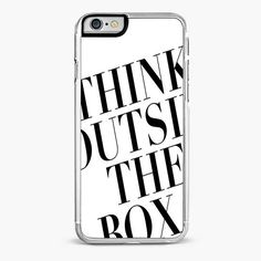 THINK OUTSIDE THE BOX IPHONE 6/6S CASE – CRAFIC #iPhone #Case