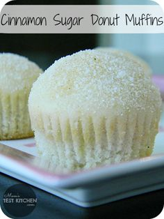 Cinnamon Sugar Donut Muffins...............I reallllllly want one of these!!!!!!!!!!