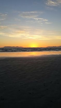 Sunset at Strand