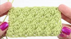 Crochet Uneven Berry Stitch + Free Video Tutorial For Beginners