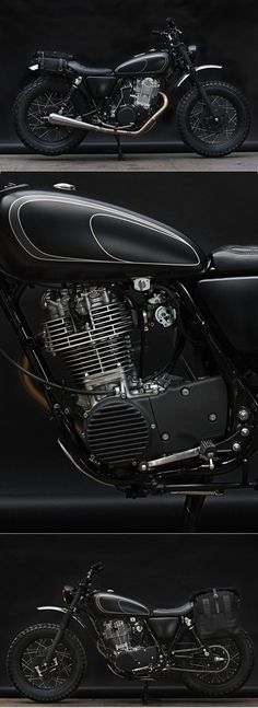 Wrenchmonkees Yamaha SR 400 - not sure whether I like this as a whole, but some parts are rad